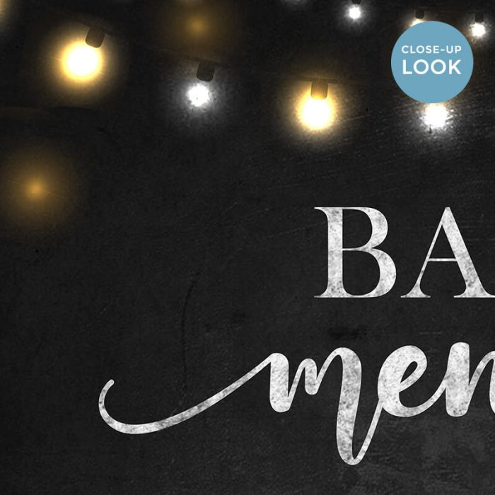 Bar Menu Chalkboard Printable