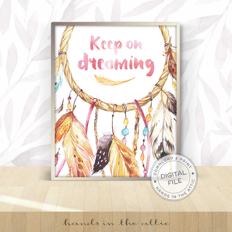 Image for Keep on Dreaming Wall Art