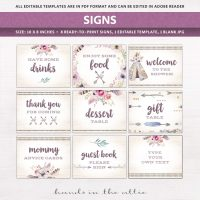 Image for Bohemian Theme Baby Shower Package