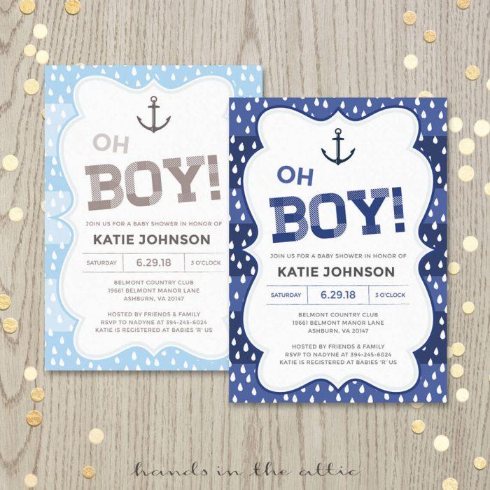 Backyard Bridal Shower Invitation | Printable Stationery | Weddings ...