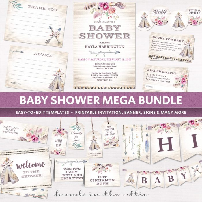 Image for Boho Baby Shower