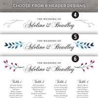 Image for Elegant Wedding Seating Chart