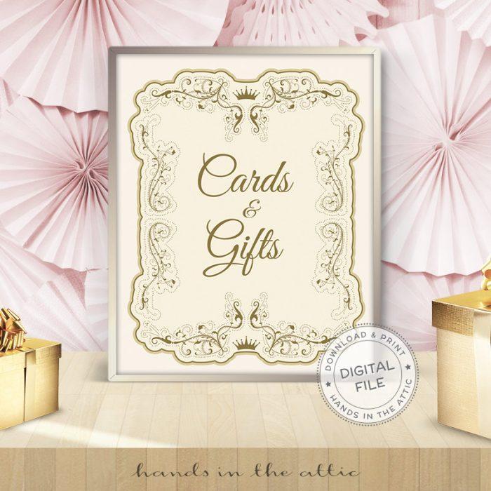 Image for Cards & Gifts   Vintage Wedding Sign