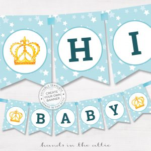Image for Baby Boy Alphabet Party Banner