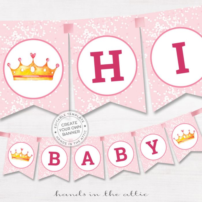 Image for Princess Birthday Party Banner