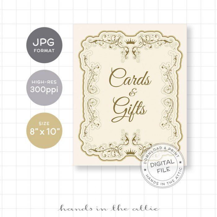 Image for Cards & Gifts | Vintage Wedding Sign
