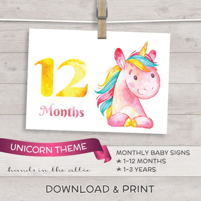 Image for Unicorn Baby Growth Signs