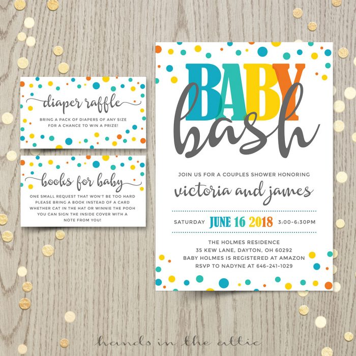 Baby Bash Invitation