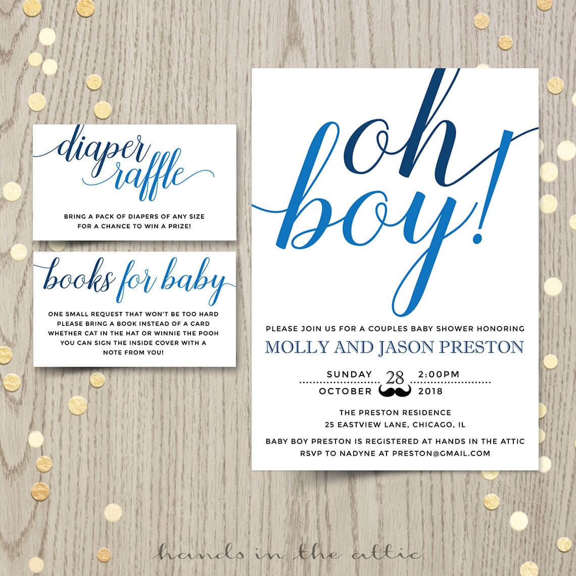 Baby Shower Invitations Archives | Printable Stationery | Weddings ...