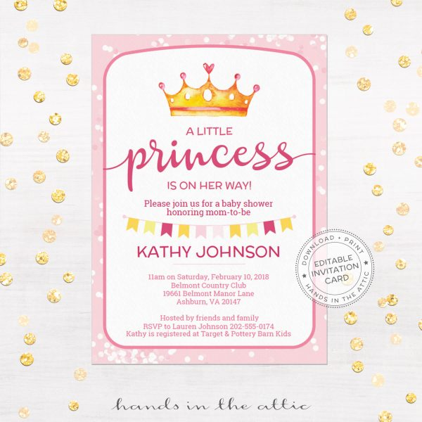 Free Baby Shower Invitation