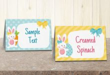 Easter Party Food Labels