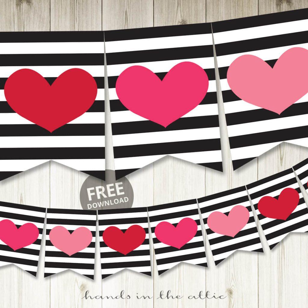 Free Valentine's Day Banner