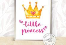 Little Princess Wall Art