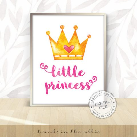 Little Princess Wall Art