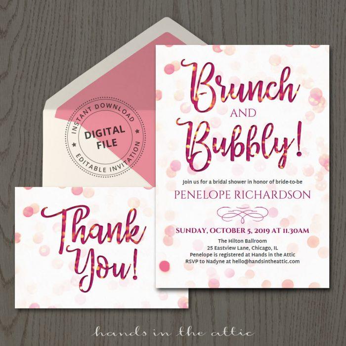 Invitation Templates Archives | Printable Stationery | Weddings ...