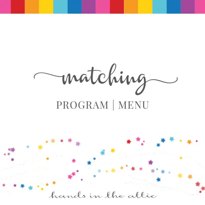 Matching Program | Menu