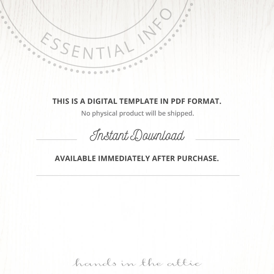Wedding Invitation Templates Instant Download
