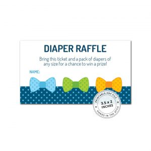 Boy Diaper Raffle