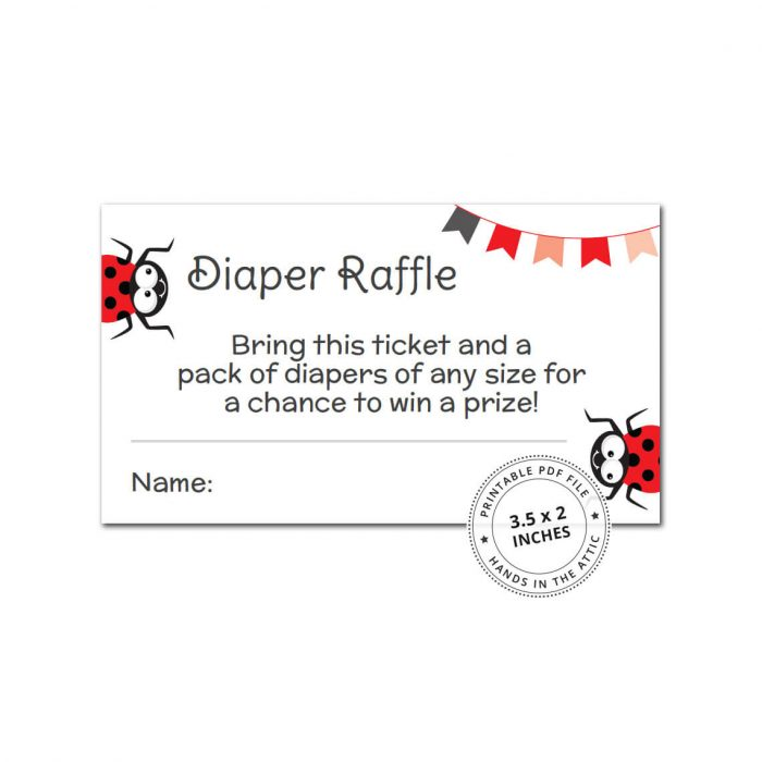 Girl Diaper Raffle