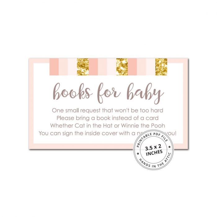 Pink and Gold Books for Baby