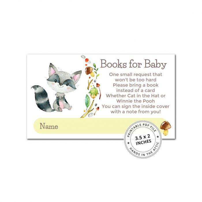 Woodland Animals Books For Baby