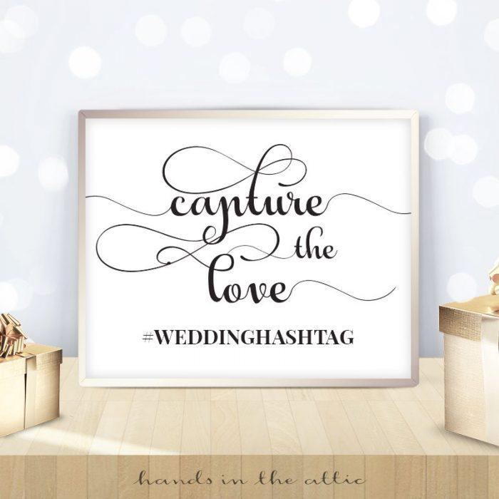 Capture the Love Hashtag