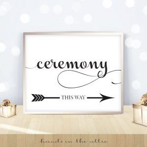 Ceremony Direction
