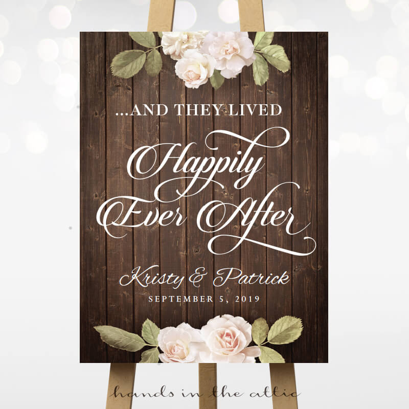Happily Ever After - Vintage Flowers