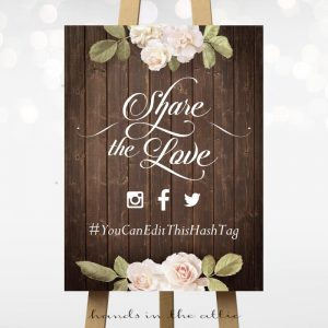 Share the Love - Vintage Flowers