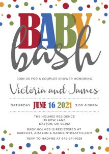 12 Gender Neutral Baby Shower Invitation