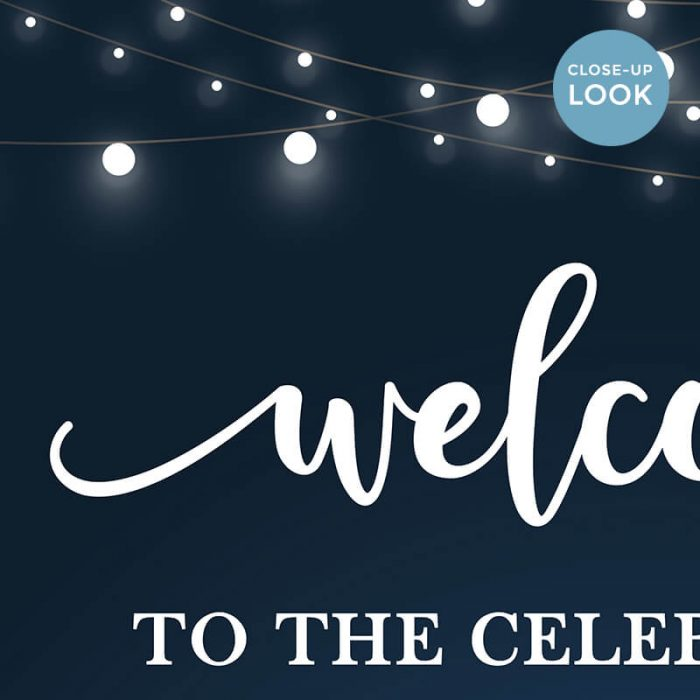 Celebration Welcome Sign Printable