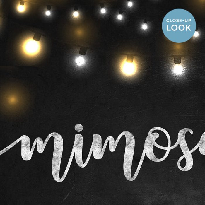 Chalkboard Mimosa Bar Sign