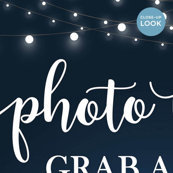 Photo Booth Prop Sign Printable