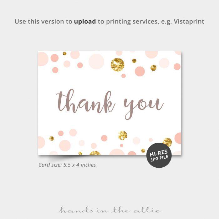 Pink And Gold Vistaprint