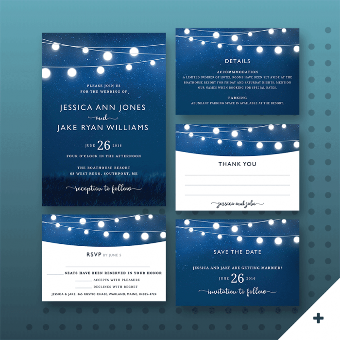 Wedding Invitation Sets