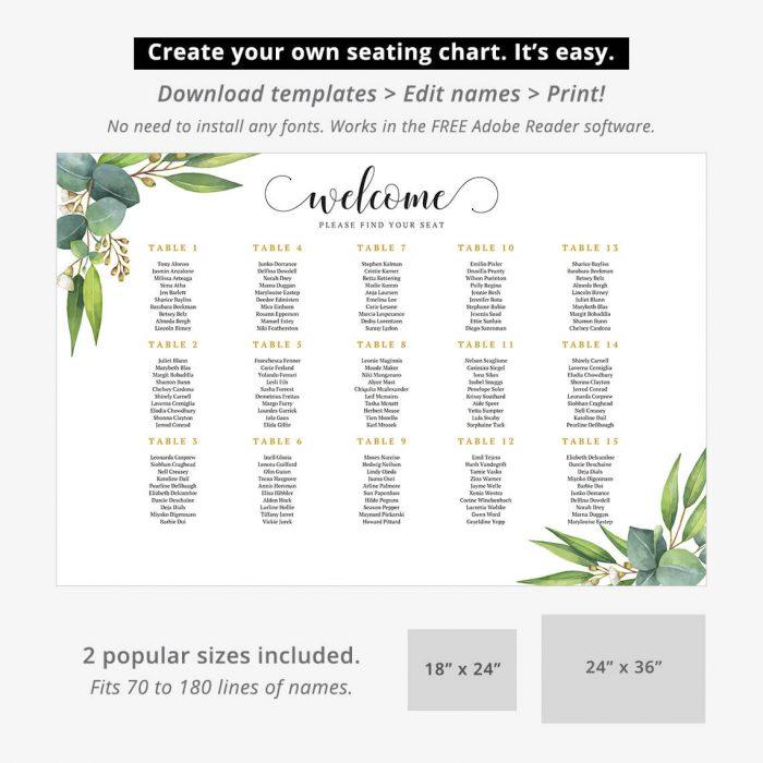 Eucalyptus Seating Chart P2