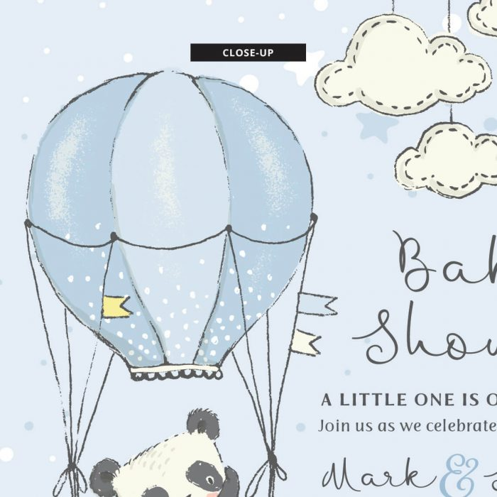 Panda Theme Baby Shower For A Boy